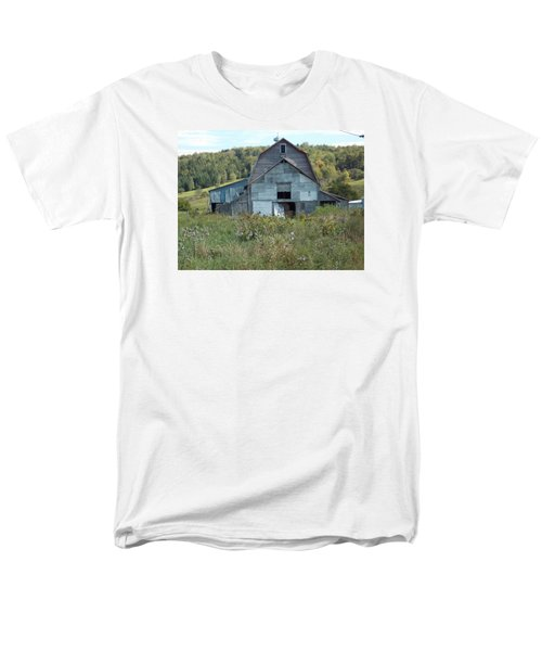 Abandoned Barn Men's T-Shirt  (Regular Fit) by Catherine Gagne