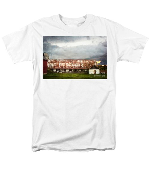 Abandoned Dairy Farm Men's T-Shirt  (Regular Fit) by Judy Wolinsky