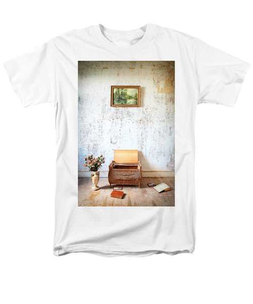 Abandoned Memories -urbex Men's T-Shirt  (Regular Fit) by Dirk Ercken