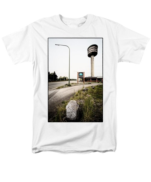 Abandoned Tower Restaurant - Urban Exploration Men's T-Shirt  (Regular Fit) by Dirk Ercken