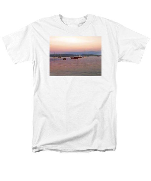 Aberdovey Moorings. Men's T-Shirt  (Regular Fit) by Paul Scoullar