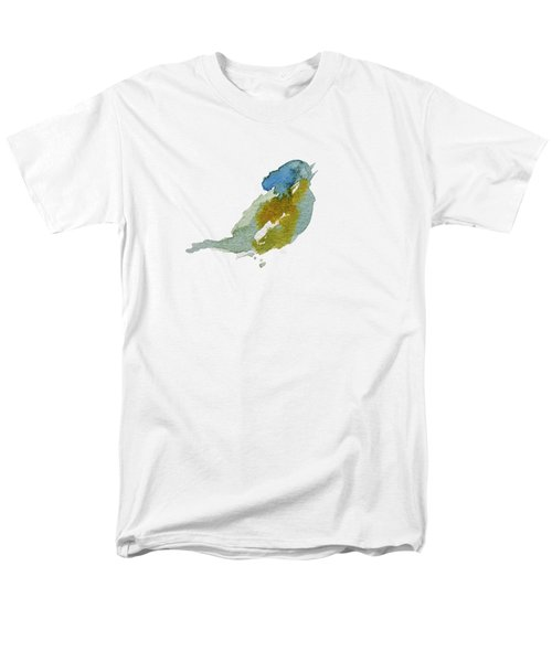Abstract Bird Singing Men's T-Shirt  (Regular Fit) by Stephanie Peters
