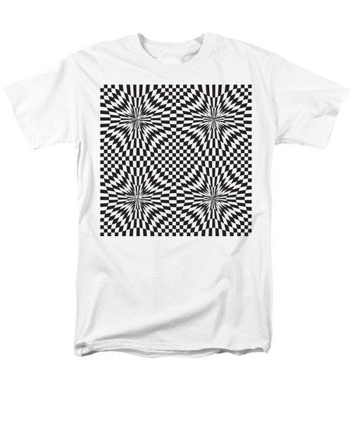 Abstract Vector Pattern Men's T-Shirt  (Regular Fit) by Michal Boubin