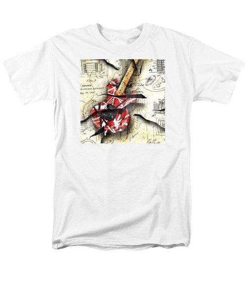 Abstracta 35 Eddie's Guitar Men's T-Shirt  (Regular Fit) by Gary Bodnar