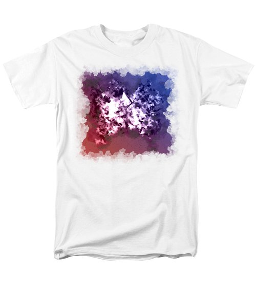 Abstraction Of The Ink Kiss  Men's T-Shirt  (Regular Fit) by Anton Kalinichev