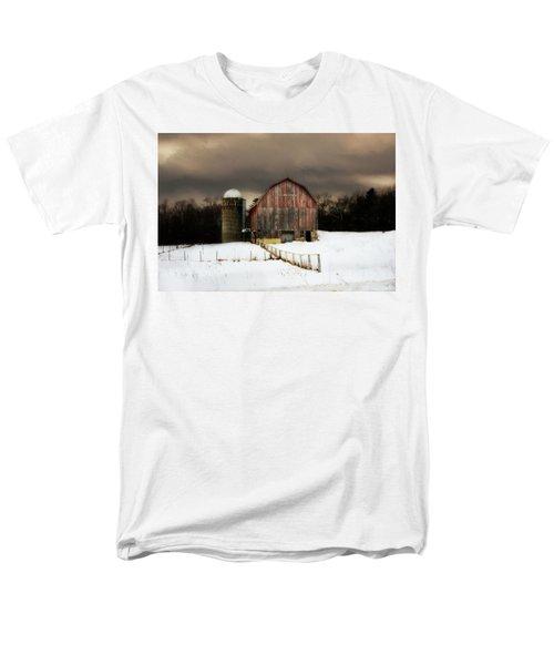 Acorn Acres Men's T-Shirt  (Regular Fit) by Julie Hamilton