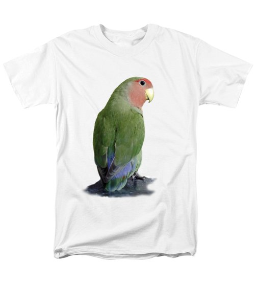 Adorable Pickle On A Transparent Background Men's T-Shirt  (Regular Fit)