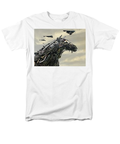 Advance Of The Machines Men's T-Shirt  (Regular Fit) by Christopher McKenzie