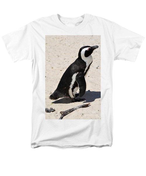 Men's T-Shirt  (Regular Fit) featuring the digital art African Penguin 2 by Eva Kaufman