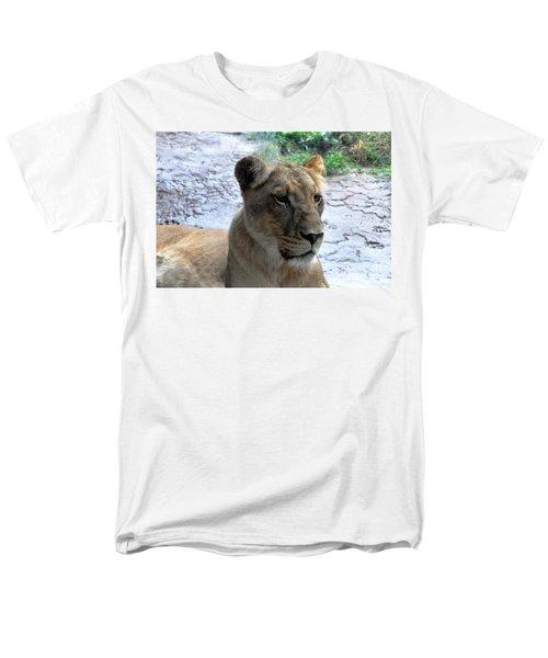 Men's T-Shirt  (Regular Fit) featuring the photograph African Queen by John Black
