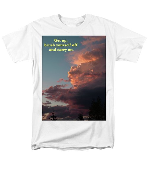 After The Storm Carry On Men's T-Shirt  (Regular Fit) by DeeLon Merritt
