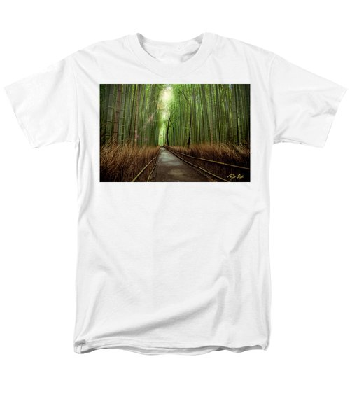 Afternoon In The Bamboo Men's T-Shirt  (Regular Fit)