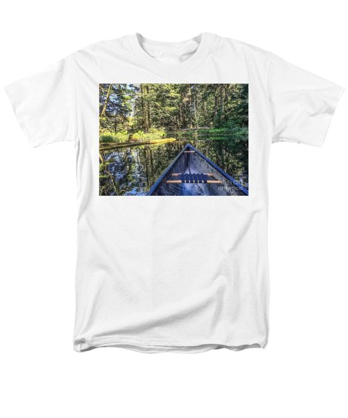 Men's T-Shirt  (Regular Fit) featuring the photograph Afternoon Paddle by William Wyckoff