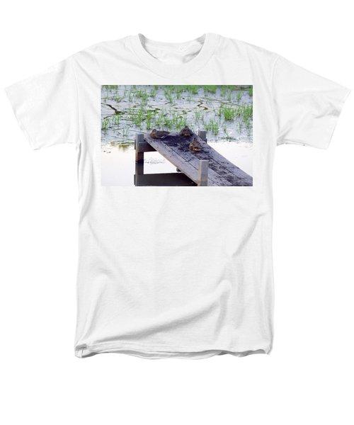 Afternoon Rest Men's T-Shirt  (Regular Fit) by Deborah  Crew-Johnson