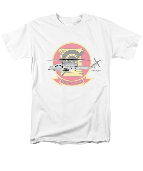 Men's T-Shirt  (Regular Fit) featuring the digital art Ah-1z Viper by Arthur Eggers