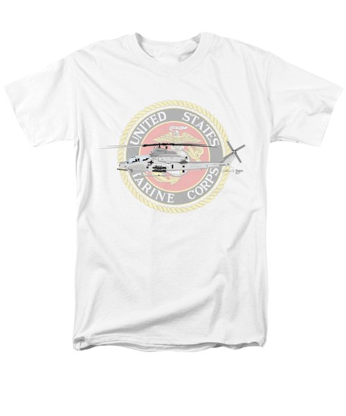 Ah-1z Viper Usmc Men's T-Shirt  (Regular Fit) by Arthur Eggers