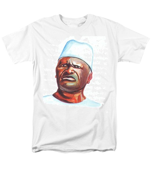Ahmed Sekou Toure Men's T-Shirt  (Regular Fit) by Emmanuel Baliyanga