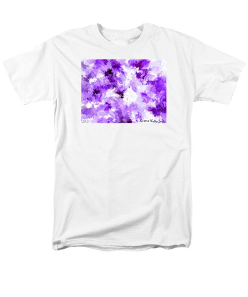 Men's T-Shirt  (Regular Fit) featuring the painting Ain't Sweating The Little Things by Holley Jacobs