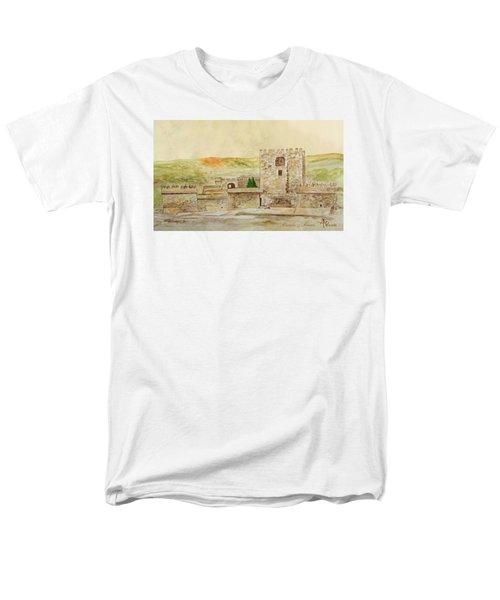 Alcazaba Of Almeria Men's T-Shirt  (Regular Fit) by Angeles M Pomata