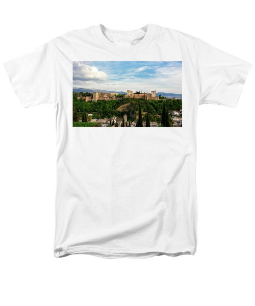 Alhambra In The Evening Men's T-Shirt  (Regular Fit) by Marion McCristall