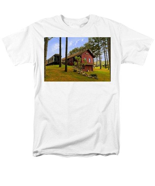 All Aboard Men's T-Shirt  (Regular Fit) by Judy Johnson