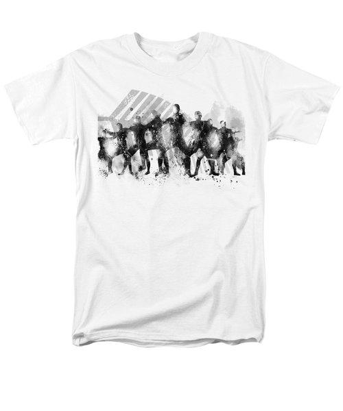All Blacks Haka Men's T-Shirt  (Regular Fit) by Marlene Watson