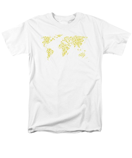 All The World Plays Tennis Men's T-Shirt  (Regular Fit) by Marlene Watson