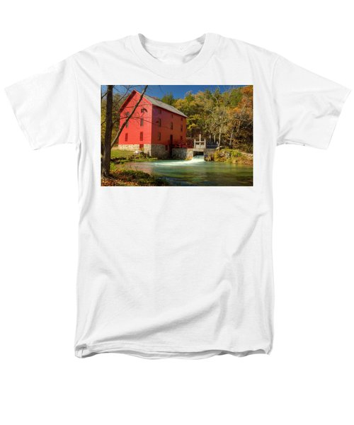 Men's T-Shirt  (Regular Fit) featuring the photograph Alley Mill by Harold Rau