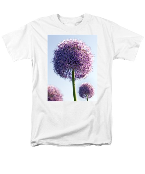 Allium Flower Men's T-Shirt  (Regular Fit) by Tony Cordoza