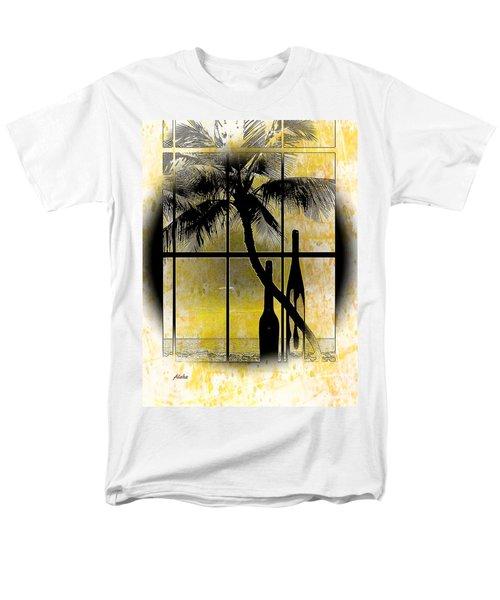 Aloha,from The Island Men's T-Shirt  (Regular Fit) by Athala Carole Bruckner
