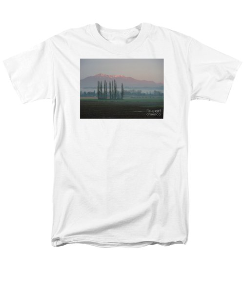 Men's T-Shirt  (Regular Fit) featuring the photograph Alpenglow  by Jeanette French