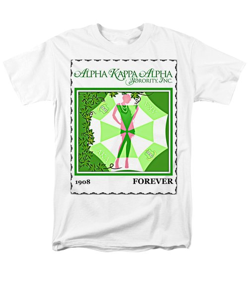 Alpha Kappa Alpha Men's T-Shirt  (Regular Fit) by Lynda Payton