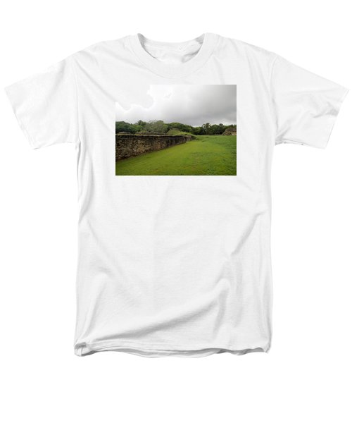 Men's T-Shirt  (Regular Fit) featuring the photograph Altun Ha #1 by Lois Lepisto