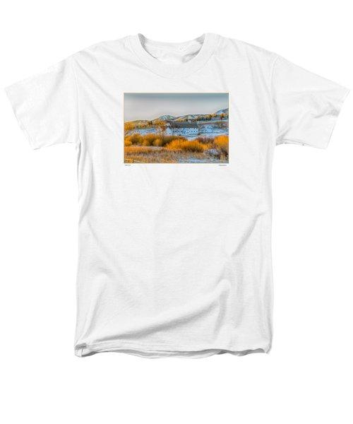 Amber Grass Men's T-Shirt  (Regular Fit) by R Thomas Berner