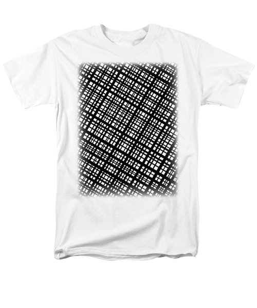 Men's T-Shirt  (Regular Fit) featuring the digital art Ambient 35 by Bruce Stanfield