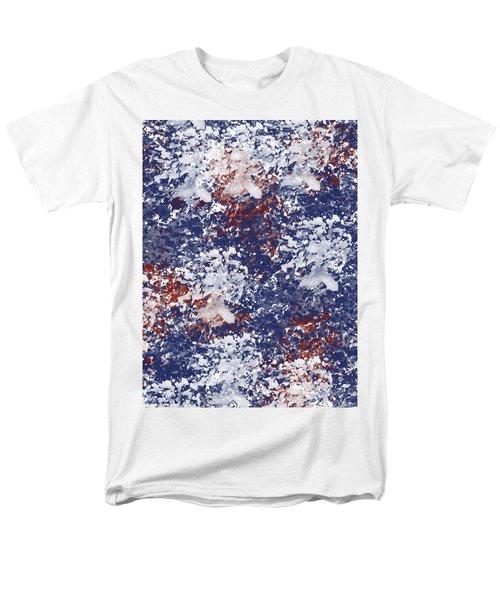 America Watercolor Men's T-Shirt  (Regular Fit)