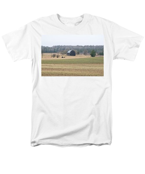 Men's T-Shirt  (Regular Fit) featuring the photograph Amish Country 0754 by Michael Peychich