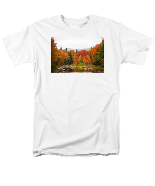 Men's T-Shirt  (Regular Fit) featuring the photograph Ammonoosuc River by Robert Clifford