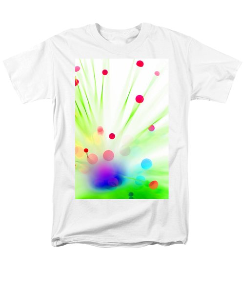 Men's T-Shirt  (Regular Fit) featuring the photograph Among The Wildflowers by Dazzle Zazz