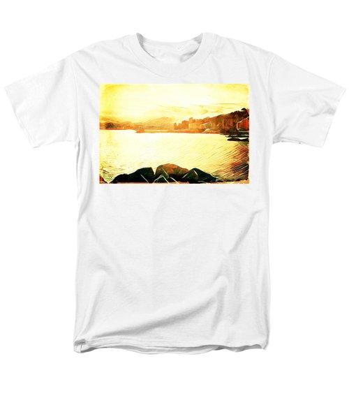 Men's T-Shirt  (Regular Fit) featuring the digital art Ancient Marina by Andrea Barbieri
