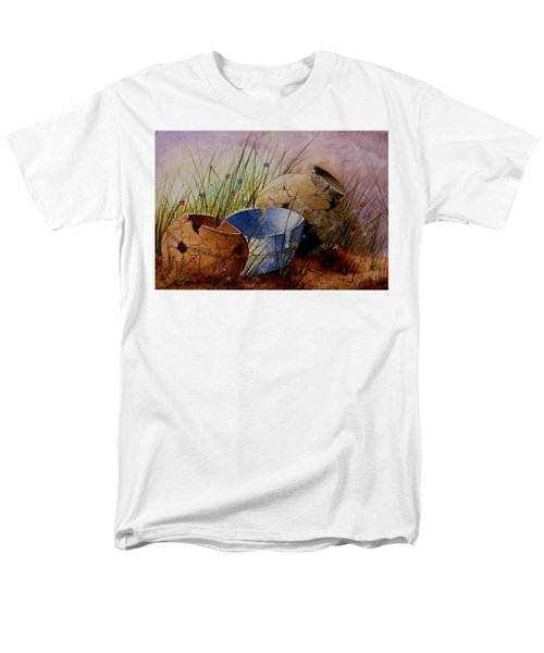 Ancient Relics A Paint Along With Jerry Yarnell' Study. Men's T-Shirt  (Regular Fit) by Jimmy Smith