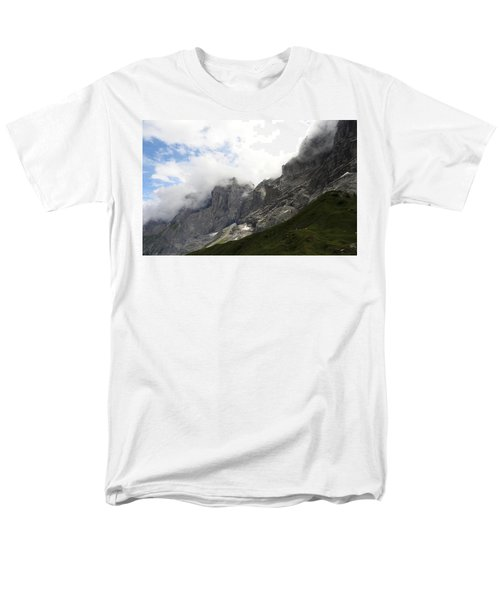 Angel Horns In The Clouds Men's T-Shirt  (Regular Fit) by Ernst Dittmar