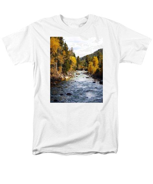 Men's T-Shirt  (Regular Fit) featuring the photograph Animas River by Kurt Van Wagner