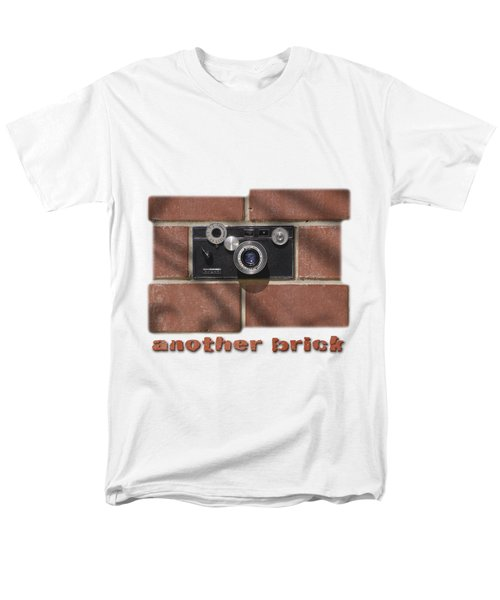 Men's T-Shirt  (Regular Fit) featuring the drawing Another Brick . . 2 by Mike McGlothlen
