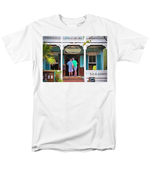 Anybody Home Men's T-Shirt  (Regular Fit) by Judy Kay