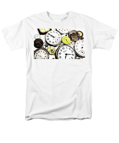Anybody Really Know What Time It Is Men's T-Shirt  (Regular Fit) by Pat Cook
