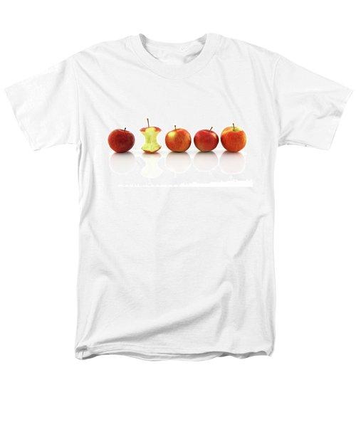 Apple Core Among Whole Apples Men's T-Shirt  (Regular Fit) by GoodMood Art