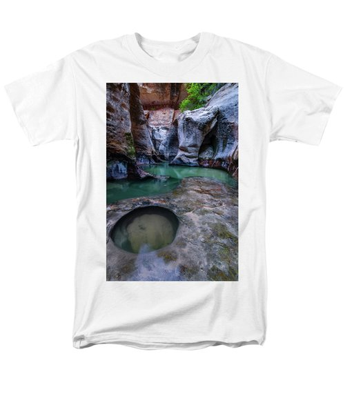 Men's T-Shirt  (Regular Fit) featuring the photograph Aquamarine  by Dustin LeFevre