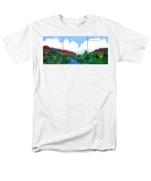 Arizona Sky Men's T-Shirt  (Regular Fit) by Bernard Goodman