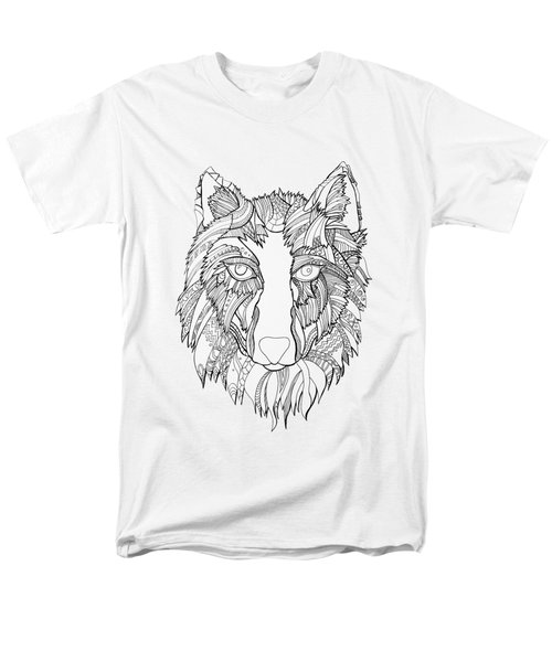 Arnou The Wolf Men's T-Shirt  (Regular Fit) by Chikkas By Fran Galea
